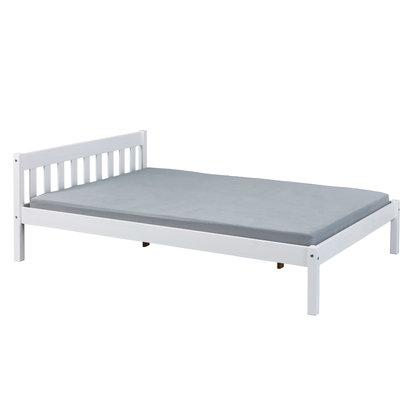 Vicki bed 140x200 cm wit gelakt.
