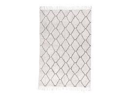 Gomea tapijt 180x120 cm natuur met print.
