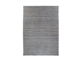 Utryr vloerkleed handgeweven 160x230 cm, laagpolig grafiet grijs.