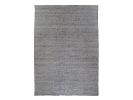 Utryr vloerkleed handgeweven 200x300 cm, laagpolig grafiet grijs.