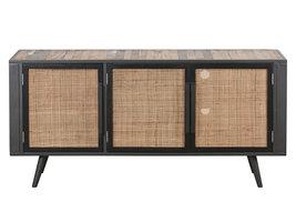 NordicRattan TV-meubel met 3 deuren, naturel.