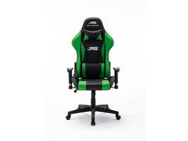 Real Gamers Pro gamestoel zwart, groen.