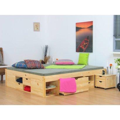 Compleet Bed 180x200.Tweepersoonsbed Grenen Zeer Compleet 180 X 200