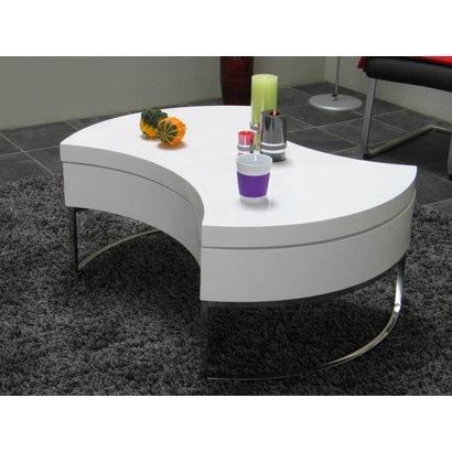 Design Salon Tafel Wit Hoogglans.Design Salontafel Turnaround Wit Hoogglans