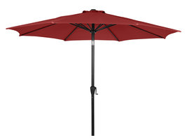 Felix parasol met slinger en kantelfunctie Ø 3 m, rood.