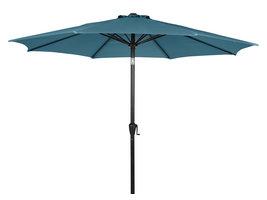 Felix parasol met slinger en kantelfunctie Ø 3 m, blauw.