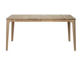 Amalfi eetkamertafel 90x160/210 cm incl. 1 extra plank, eiken decor.