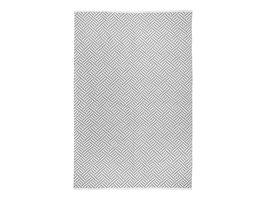 Mataro tapijt 140x200cm voor buiten grijs.