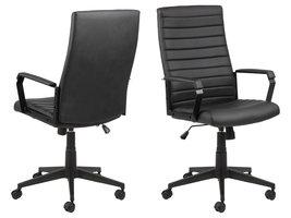 Charles kantoorstoel zwart.