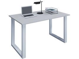 Lona Bureau 110x80 cm U-frame grijs/wit.
