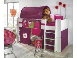 Hangtasjes Molly Kids voor kinderbedden - lila/roze
