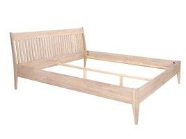 Tweepersoons eiken bed 160x200 cm Mayflower