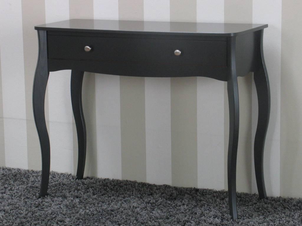 Zwarte Klassieke Sidetable.Sidetable Klassieke Stijl Grijs Baroque