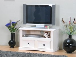 TV kast wit New Mexico 91,5cm breed