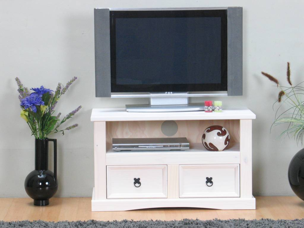 Tv Kast Wit Retro.Tv Kast Wit New Mexico 91 5cm Breed