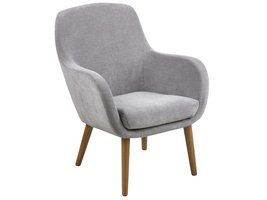 FYN Simple lounge fauteuil grijs