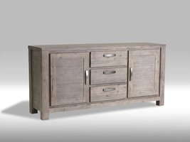 Furn House Alana dressoir acaciahout - 180 cm breed