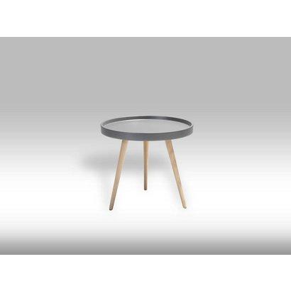 Osaka ronde salontafel grijs 50 cm