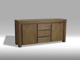 Solliden Hill dressoir acaciahout