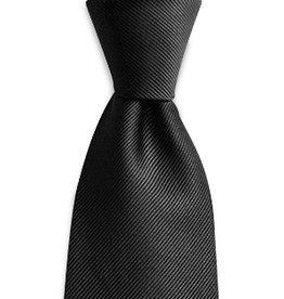 Premium Promotions Zwart zijde repp