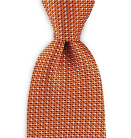 Premium Promotions Oranje-rood-wit ruit zijde