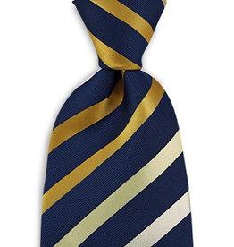Premium Promotions Blauw-geel-wit streep