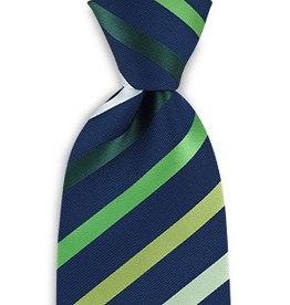 Premium Promotions Blauw-groen-wit streep