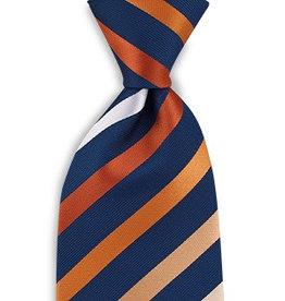 Premium Promotions Blauw-oranje-wit streep