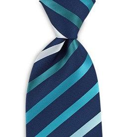 Premium Promotions Blauw-turquoise-wit streep
