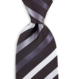 Premium Promotions Zwart-grijs-wit streep