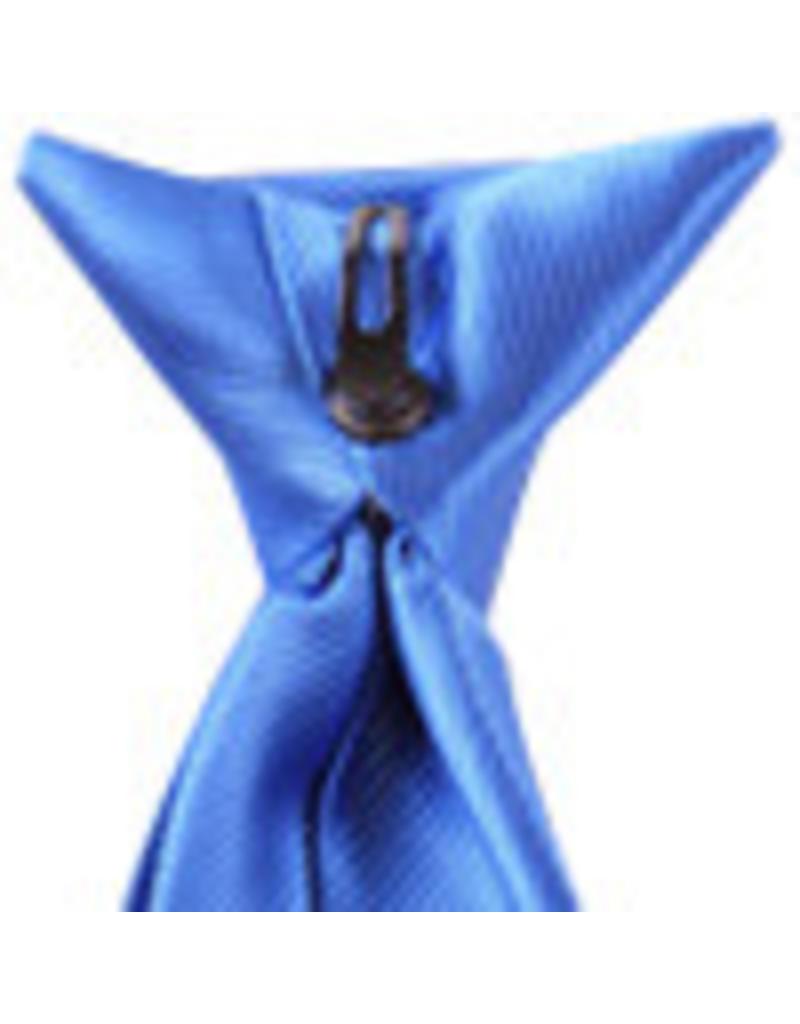 Premium Promotions klipdas kobalt 100% polyester geweven
