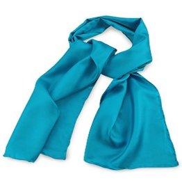 Premium Promotions Turquoise 30x140cm zijde