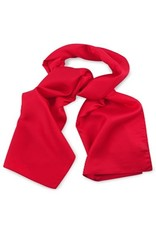 Premium Promotions Rood 100% zijde 30x140cm
