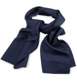 Premium Promotions Marineblauw 30x140cm zijde