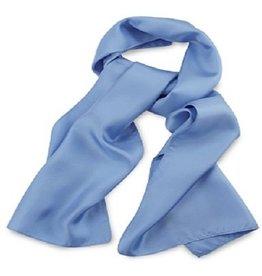 Premium Promotions IJsblauw 30x140cm zijde