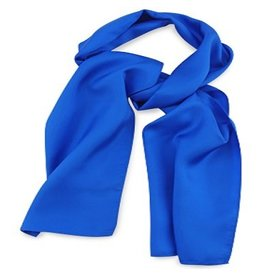 Premium Promotions Kobaltblauw 30x140cm zijde