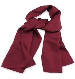 Premium Promotions Bordeaux rood 30x140cm zijde