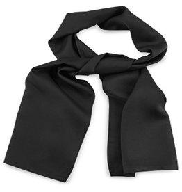 Premium Promotions Zwart 30x140cm zijde
