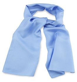 Premium Promotions Lichtblauw 30x140cm zijde