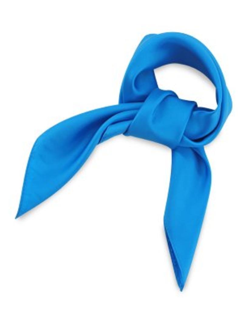 Premium Promotions Process blue 100% zijde 53x53cm