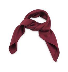 Premium Promotions Bordeaux rood 53x53cm zijde