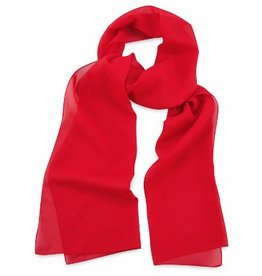 Premium Promotions Rood polyester 30x140cm