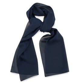 Premium Promotions Marineblauw polyester 30x140cm