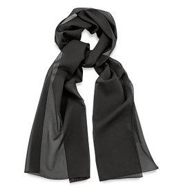 Premium Promotions Zwart polyester 30x140cm