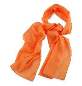 Premium Promotions Oranje polyester 30x140cm