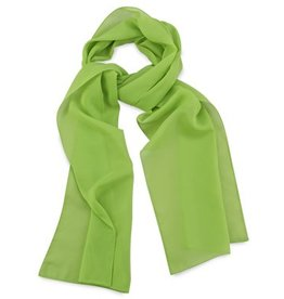 Premium Promotions Limegroen polyester 30x140cm