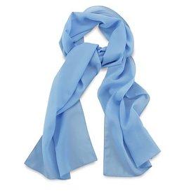 Premium Promotions Lichtblauw polyester 30x140cm