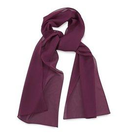 Premium Promotions Aubergine polyester 30x140cm