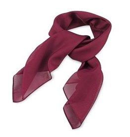Premium Promotions Bordeaux rood polyester 75x75cm