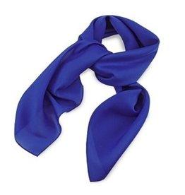 Premium Promotions Kobaltblauw polyester 75x75cm